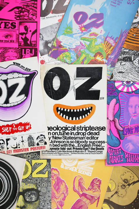 OZ #1-48 (London: January 1967-November 1973) - all published.