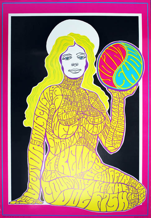 JOINT SHOW. A complete set of all five psychedelic posters designed by the most important artists of the period - Rick Griffin, Wes Wilson, Victor Moscoso, Stanley Mouse, and Alton Kelley - to commemorate the opening of the 'Joint Show' at the Moore Gallery in San Francisco, July 17th, 1967.