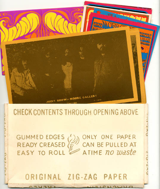JOINT SHOW. Original Joint Show Zig-Zag Packet + signed invite.