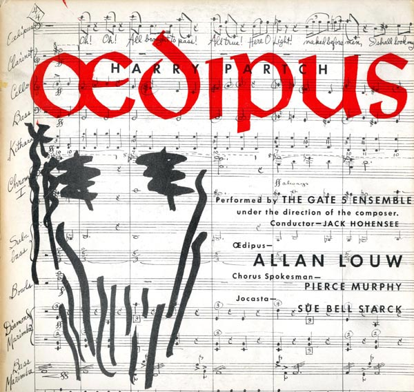 Oedipus. Harry PARTCH.
