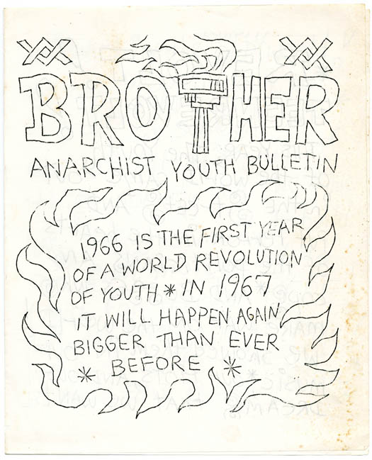 Brother Anarchist Youth Bulletin. RESURGENCE YOUTH MOVEMENT.