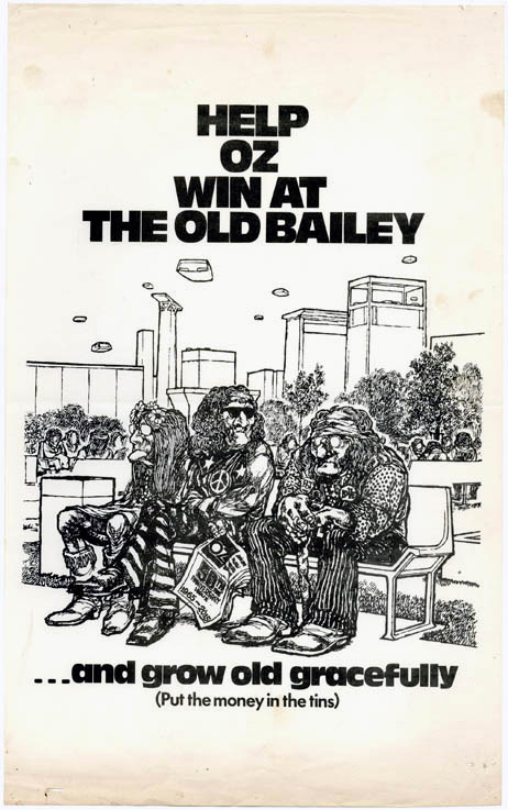 HELP OZ WIN AT THE OLD BAILEY.