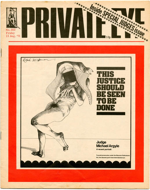 PRIVATE EYE #252 (London: August 13th, 1971).
