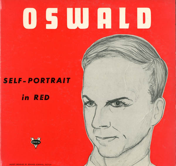 Oswald Self-Portrait in Red. Lee Harvey OSWALD.