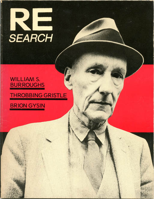 RE/SEARCH #4/5: William S. Burroughs, Brion Gysin and Throbbing Gristle