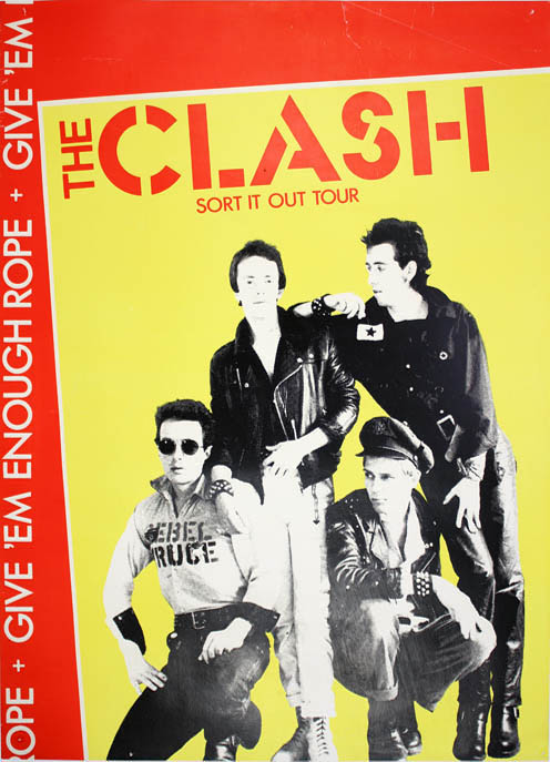 Original 'Sort It Out' UK tour poster (1978