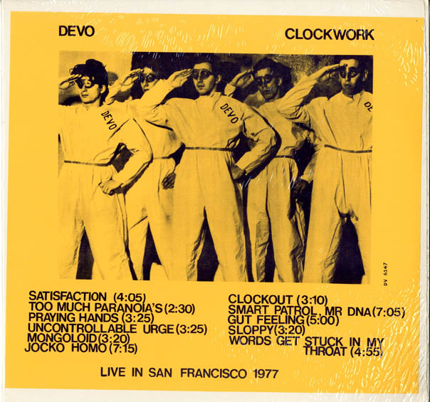 Clockwork. DEVO.