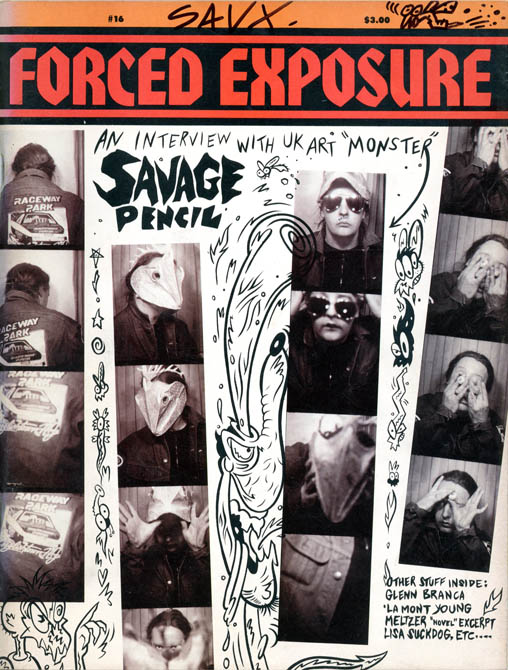 FORCED EXPOSURE #16 (Waltham, Mass.: 1990).