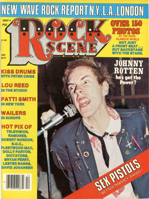 ROCK SCENE Vol. 5, #8 (Bethany, Conn.: December 1977).