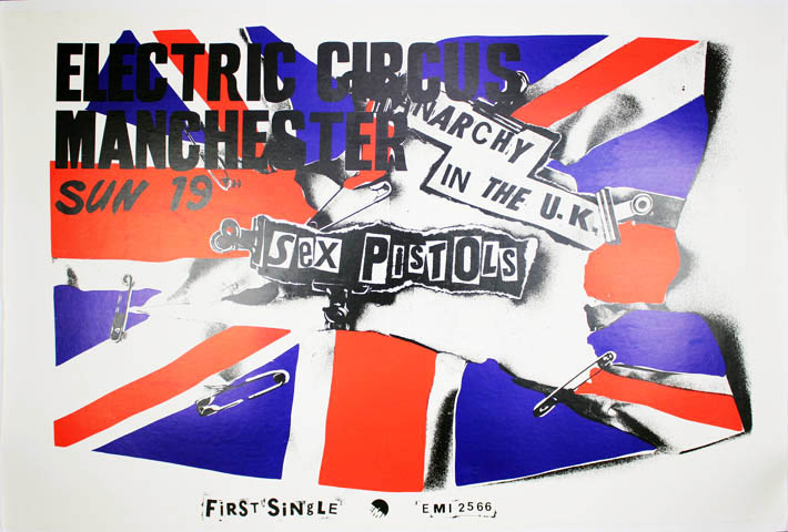 Anarchy In The UK. The SEX PISTOLS.