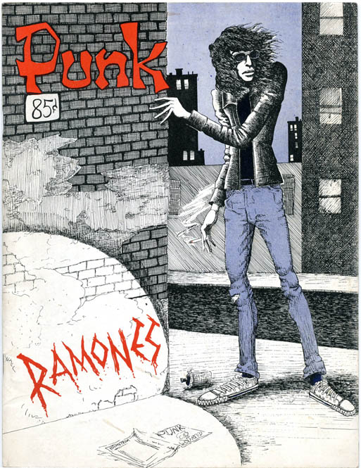 Interview in PUNK Magazine #3 (NY: April 1976). R. CRUMB.