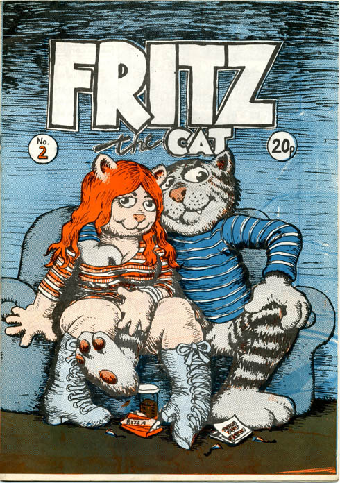 FRITZ THE CAT No. 2 (Manchester: J.J. Flash, nd. [1973]).
