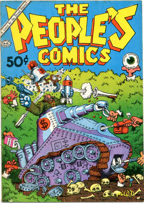 THE PEOPLE'S COMICS (SF: The Golden Gate Publishing Co., 1972).