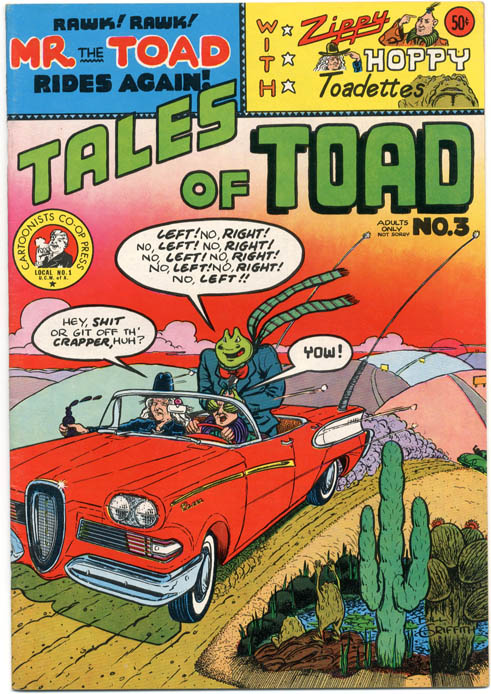 TALES OF TOAD #3 (SF: Cartoonists Co-op Press, 1973).