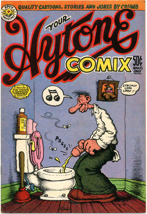 YOUR HYTONE COMIX (SF: Apex Novelties, 1971