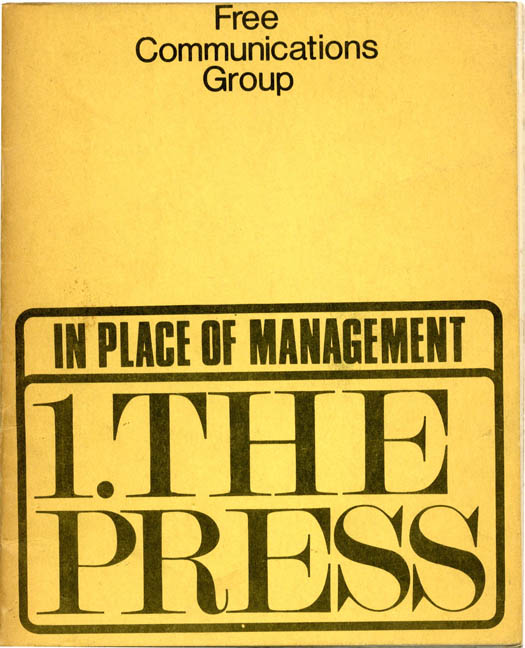 Free the Press: The Case for Democratic Control. FREE COMMUNICATIONS GROUP.