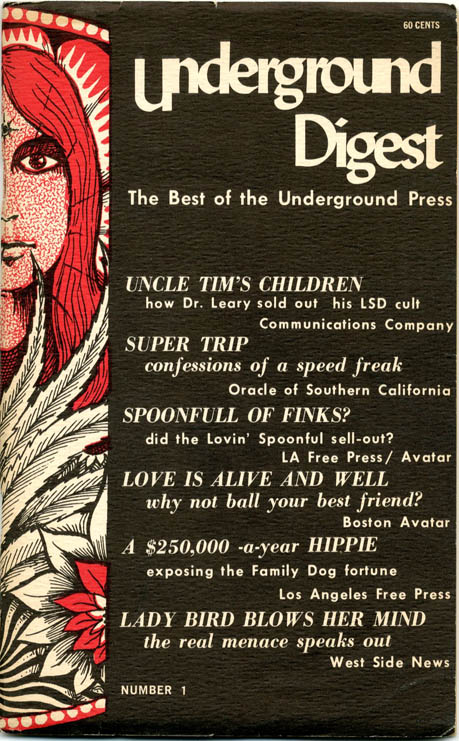 UNDERGROUND DIGEST Volume 1, #1: The Best of the Underground Press.