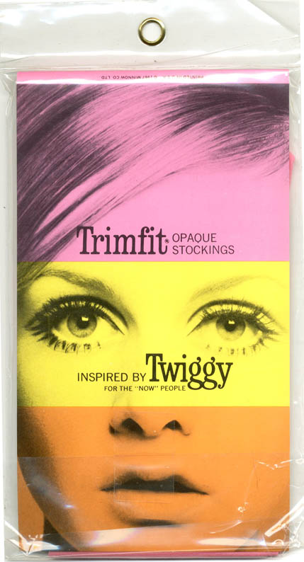 Trimfit Tights Inspired by Twiggy for the 'Now' People. TWIGGY.