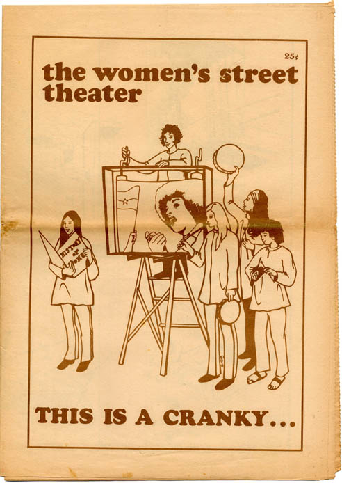 This is a cranky… or rather, it CAN be a cranky. The WOMEN'S STREET THEATER.