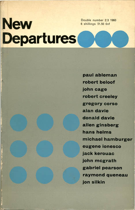NEW DEPARTURES #2/3 (South Hinksey, nr. Oxford: [June] 1960).