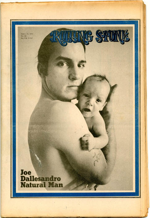 ROLLING STONE #80 (April 15, 1971 - UK issue).