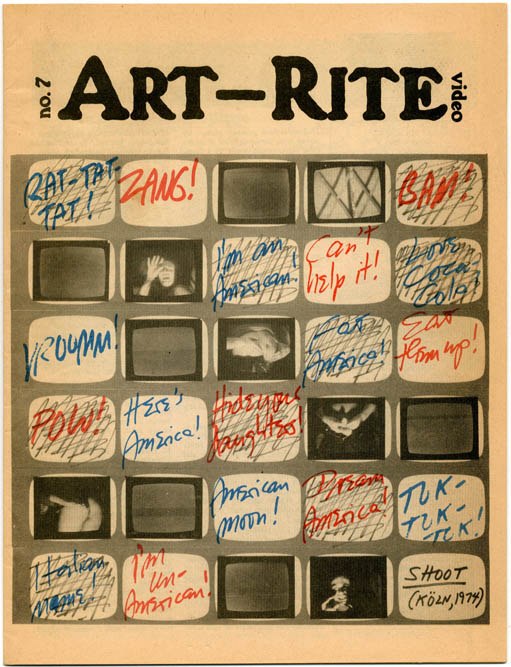 ART-RITE #7 (NY: Art-Rite Publishing Co., Winter/Spring, 1975-76).