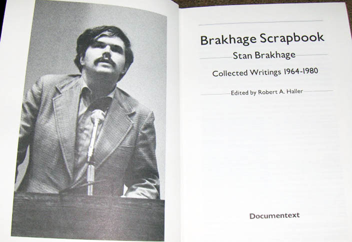 Brakhage Scrapbook: Collected Writings 1964-1980