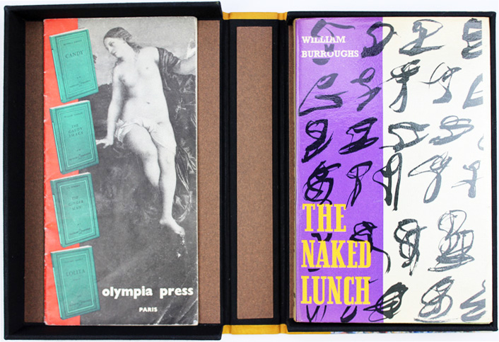 The Naked Lunch + Olympia Press Catalogue. William S. BURROUGHS.