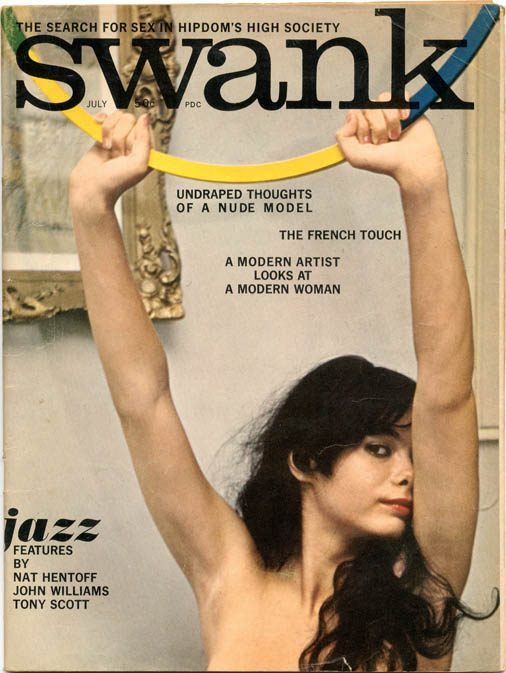 """""""The Word"""" (2pp.) in SWANK Vol. 8, #3 (NY: July 1961). William S. BURROUGHS, contributes."""