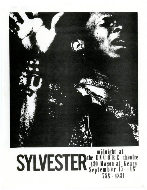 SYLVESTER - MIDNIGHT AT THE ENCORE THEATRE.
