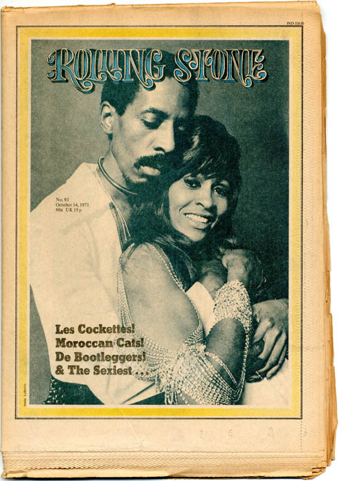 ROLLING STONE #93 (October 14, 1971 - UK issue).
