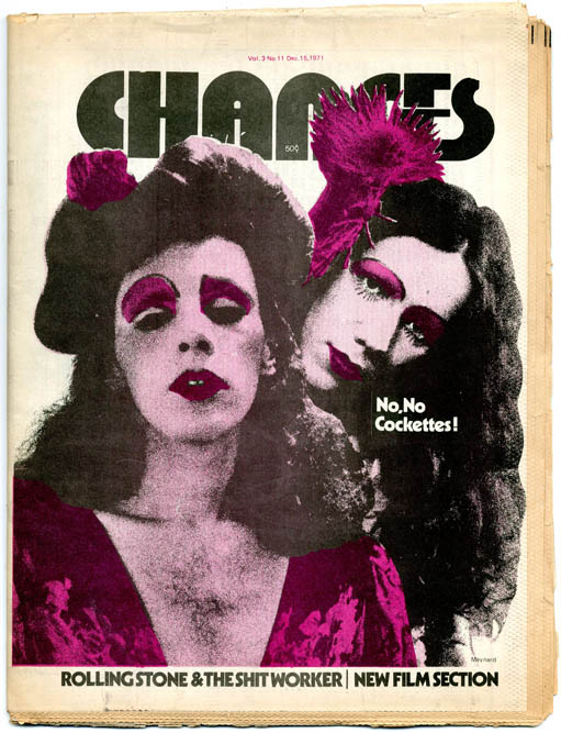 CHANGES Vol. 3, #11 (NY: December 15, 1971).