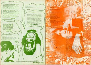 BLACKHILL BULLSHIT #1, #2, #4-7 (London: Blackhill Enterprises, November 1969 - March [?] 1971).