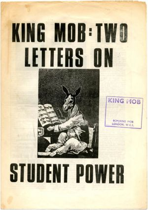 KING MOB ECHO #1-3 (London: 1968-1969).