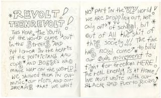 Brother Anarchist Youth Bulletin.