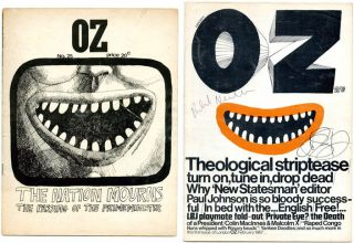 OZ #1-41 (Sydney: Oz Publications Ink Limited, April 1963-February 1969) - all published (first...