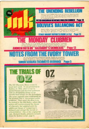 INK - The Other Newspaper #8-16 (London: Ink Publishers Ltd., June 19th- August 18th, 1971
