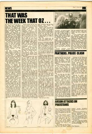 INK - The Other Newspaper #8-16 (London: Ink Publishers Ltd., June 19th- August 18th, 1971).