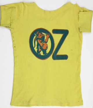 OZ TRIAL T-SHIRT. Oz pregnant elephant.