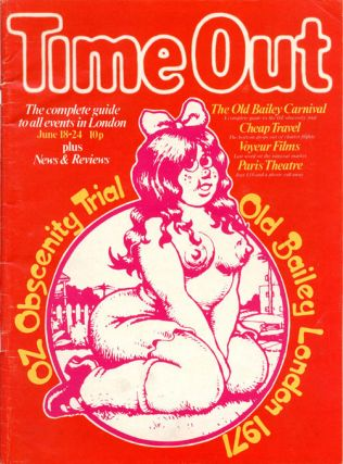 TIME OUT #70 (London: June 18th, 1971).