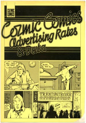 COZMIC COMICS ADVERTISING RATES & DATA