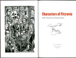 Characters of Fitzrovia.
