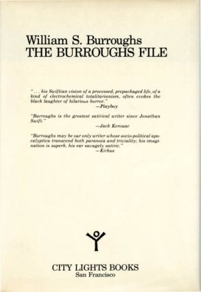 The Burroughs File.