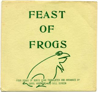 Feast of Frogs. FEAST OF FROGS.