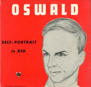 Oswald Self-Portrait in Red. Lee Harvey OSWALD