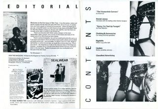 SKIN TWO MAGAZINE #1 (Kingston on Thames, Surrey: pub./ed. Tim Woodward, nd. [1983]).