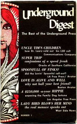 UNDERGROUND DIGEST Vol. 1, #1: The Best of the Underground Press