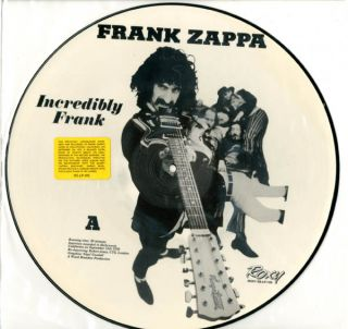 Incredibly Frank. Frank ZAPPA