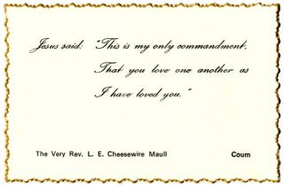 COUM 'business' card, c. 1971
