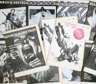 SEARCH & DESTROY: New Wave Cultural Research #1-11 (SF: 1977-1979) - all published.